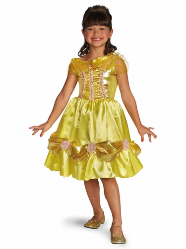 Belle Sparkle Classic Girls Costume