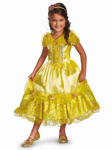 Belle Sparkle Deluxe Girls Costume