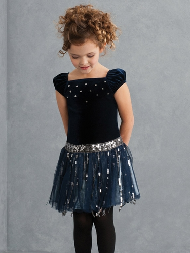 Biscotti Gatsby Girl Navy Dress
