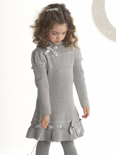 "Biscotti ""Silver Belles"" Dress"