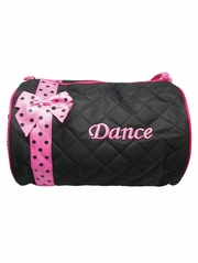 Black Dance Duffel Bag