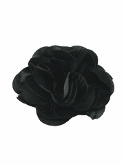 Black Satin Flower