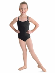 Bloch Black Double Crossback Leotard