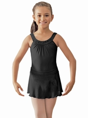 Bloch Black Round Yoke Leotard