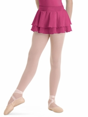 Bloch Hot Pink Summer Layered Skirt