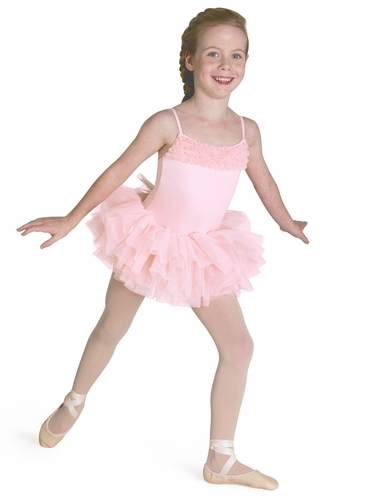 Bloch Light Pink Desdemona Tutu Leotard