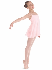 Bloch Light Pink Juliet Camisole Empire Dress Leotard
