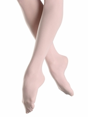 Bloch Pink Endura Footed Tights