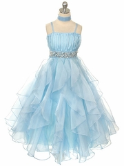 Blue Pageant Dresses and Gowns - PinkPrincess.com