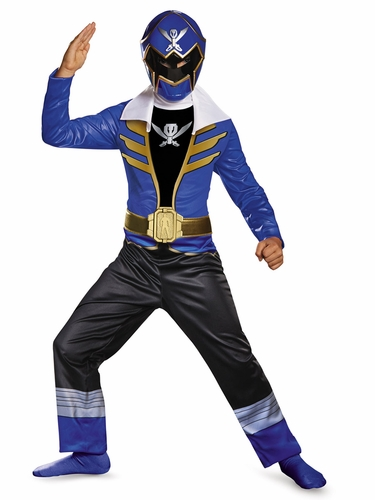 Blue Power Ranger Super Megaforce Classic