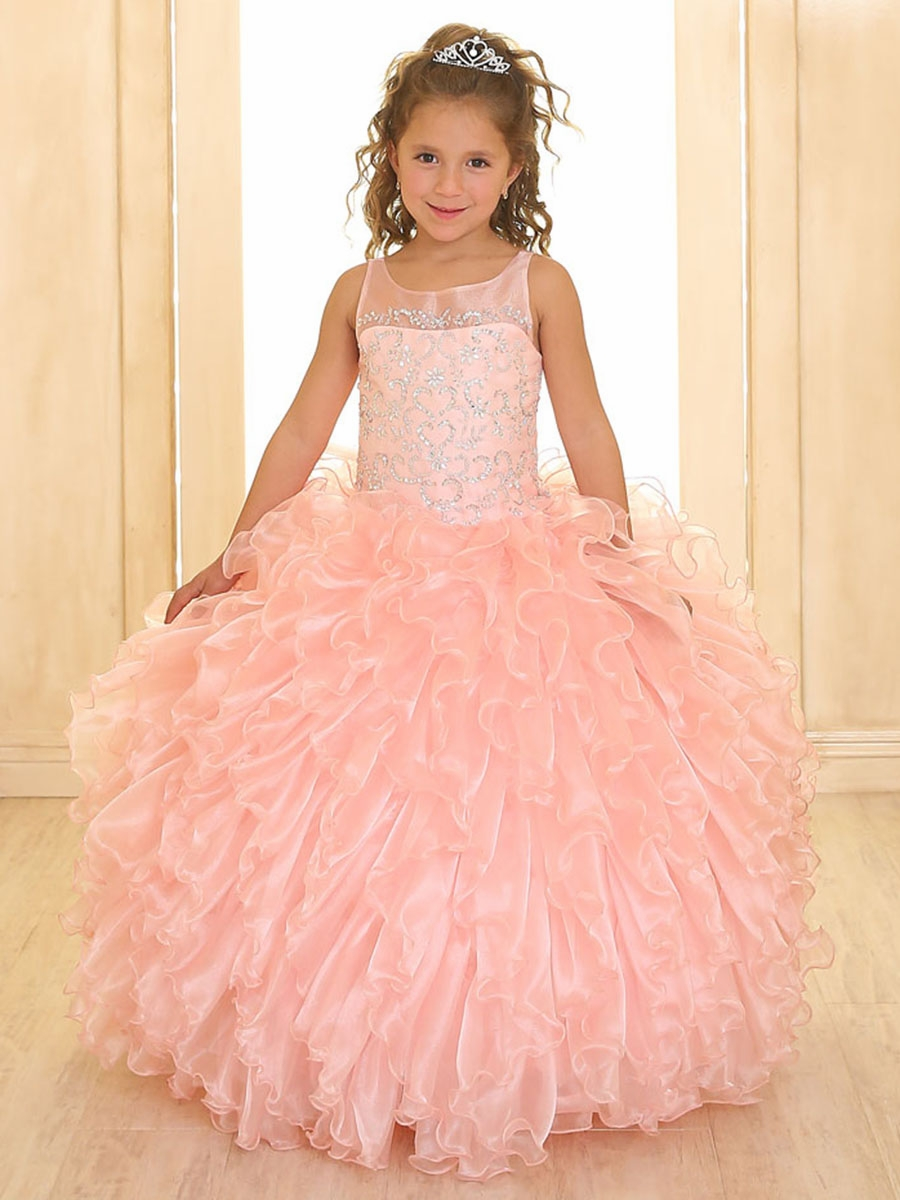 Pink Pageant Dresses & Gowns - PinkPrincess.com