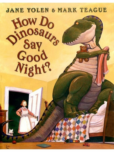 Books to Bed Dinosaurs Goodnight w/ Matching Blue Short Sleeve Pajama Set