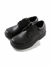 Black Smooth Boys Formal Dress Shoes