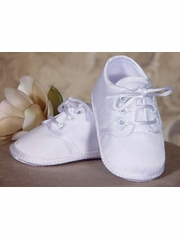 Boys Oxford Christening Shoe