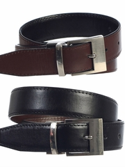 Boys Reversible Black & Brown Belt