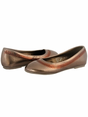 Bronze Patent Sequins Ballerina Girls (Youth) Shoe