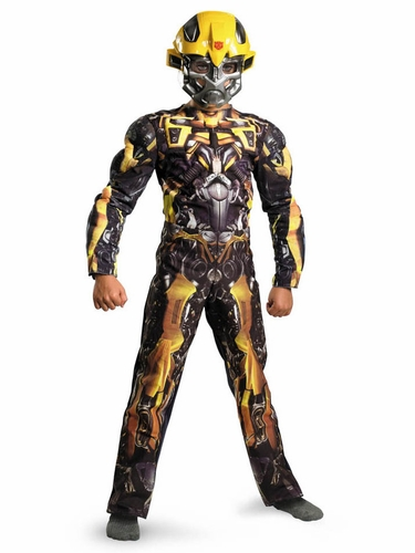 Bumblebee Classic Muscle Costume