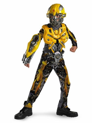 Bumblebee Movie Deluxe Boys Costume