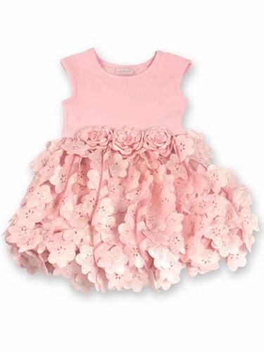 cachcach Pinky Icy Blooms Ballet Dress