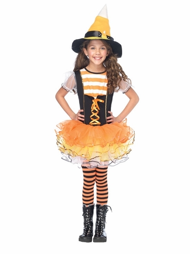 Candyland Witch Girls Costume by Leg Avenue