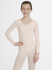 Capezio Child Ballet Pink Long Sleeve Leotard