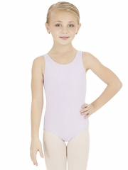 Capezio Child Lavender High-Neck Tank Leotard