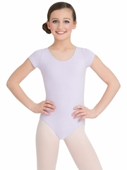 Capezio Child Lavender Short Sleeve Leotard