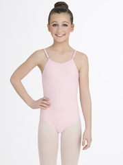 Capezio Child Pink Camisole Leotard with Adjustable Straps