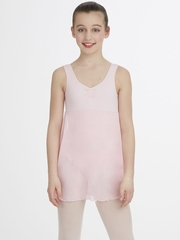 Capezio Child Pink Empire Dress