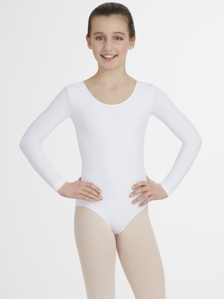 Girls Black Leotards