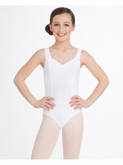 Capezio Child White Princess Tank Leotard