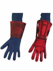 Captain America Deluxe Child Gloves