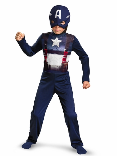 Captain America Movie Retro Costume