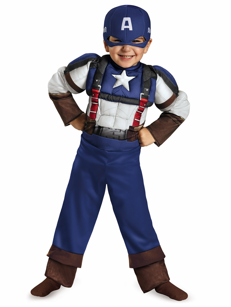 Captain America 2t costume. New. See pics for size and weight. Seller assumes all responsibility for this listing. Shipping and handling. This item will ship to United States, but the seller has not specified shipping options. Contact the seller- opens in a new window or .