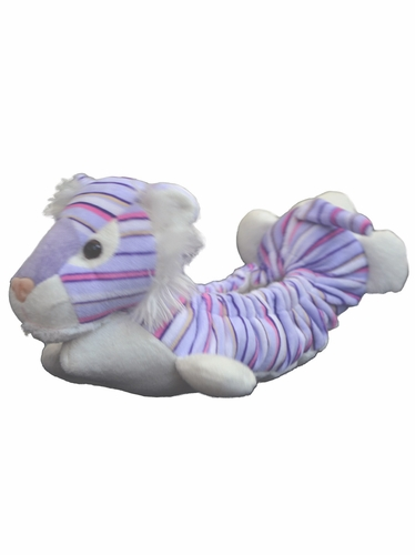 Chloe Noel Purple Stripe Tiger Animal Soaker Soft Blade Cover