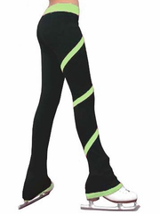 ChloeNoel Light Green Spiral Pants