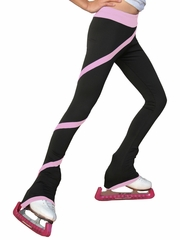 ChloeNoel Pink Polar Fleece Spiral Pants by Polartec