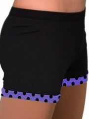 ChloeNoel Purple Dots Skating Shorts