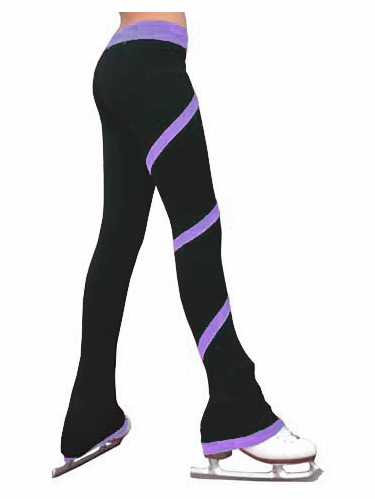 ChloeNoel Purple Spiral Pants