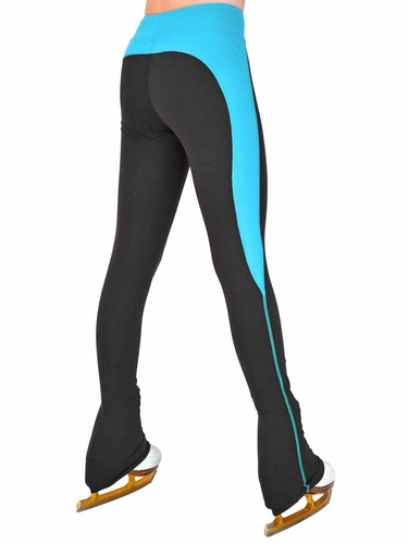 ChloeNoel Turquoise Supplex Rider Style Skate Pants