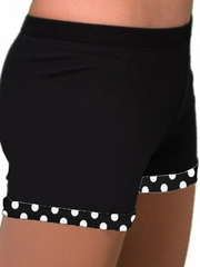 ChloeNoel White Dots Skating Shorts