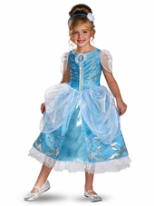 Cinderella Sparkle Deluxe Girls Costume