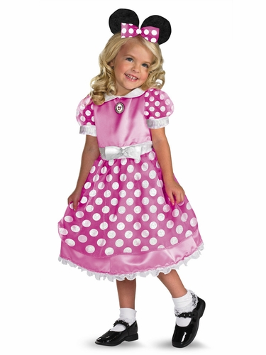 Clubhouse Minnie Mouse Kids Costume