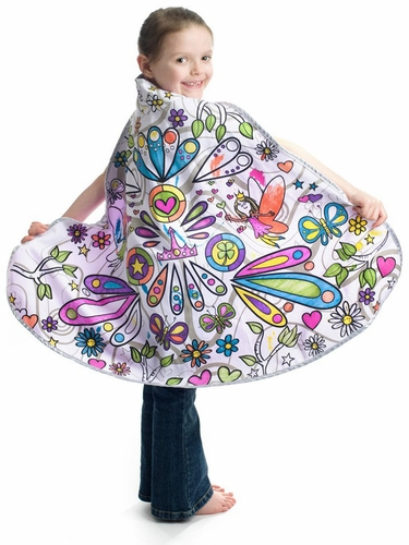 Colour A Cape Fairy Reversible Set w/ Markers