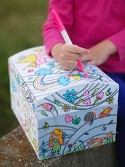 Colour A Princess Fairy Box