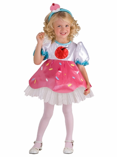 Cupcake Cutie Girls Costume