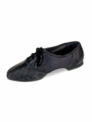 Danshūz Black Combo Split Sole Jazz Shoes