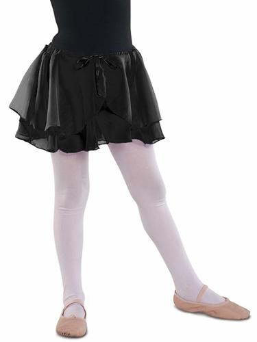 Danshūz Black Double Layered Skirt