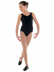 Danshūz Black Princess Tank Leotard