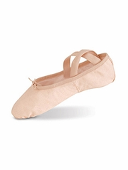Danshūz Pink Split Sole Canvas Ballet